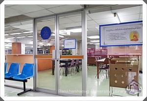 RU Library Building 1 Floor Mezzanine