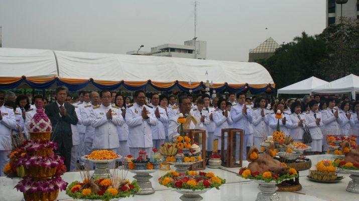 17 ม.ค. 2554 พิธีเปิดงานนิทรรศการเทิดพระเกียรติพ่อขุนรามคำแหงมหาราช 17 มกรามคม วันพ่อขุนฯ