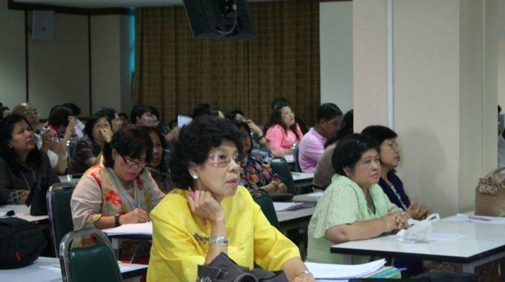 """26 เม.ย. 2554 ประชุมสำนักฯ เรื่อง """"หลักเกณฑ์และวิธีการประเมินผลการปฏิบัติราชการ รอบการประเมินที่ 2"""""""