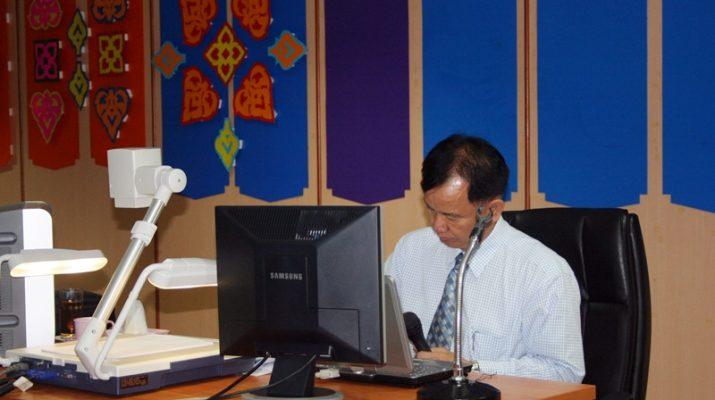 24 ม.ค. 2555 :ประชุมสำนักฯ เรื่อง ความก้าวหน้าของระบบบริหารคุณภาพ ISO 9001:2008