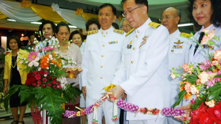 25 ก.ค. 2555 พิธีเปิดนิทรรศการเฉลิมพระเกียรติพระบรมโอรสาธิราชฯ สยามมกุฎราชกุมาร เฉลิมพระชนมพรรษา 5 รอบ