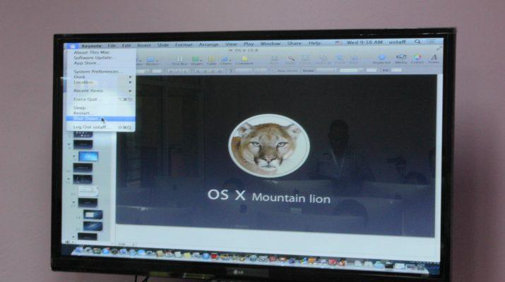 """14 - 15 พ.ย. 2556 ฝึกอบรม เรื่อง """"การใช้งานระบบปฏิบัติการ Mac OS X เบื้องต้น และ การผลิต e-Book ด้วยโปรแกรม iBook Authors"""""""