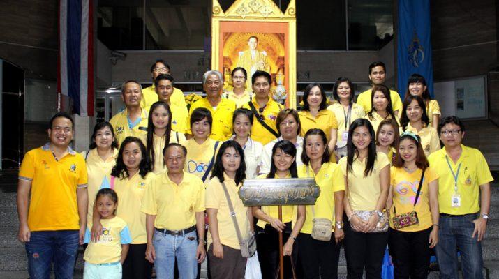 โรงทานเฉลิมพระเกียรติและพิธีจุดเทียนถวายพระพร เนื่องในวันเฉลิมพระชนมพรรษาพระบาทสมเด็จพระเจ้าอยู่หัว