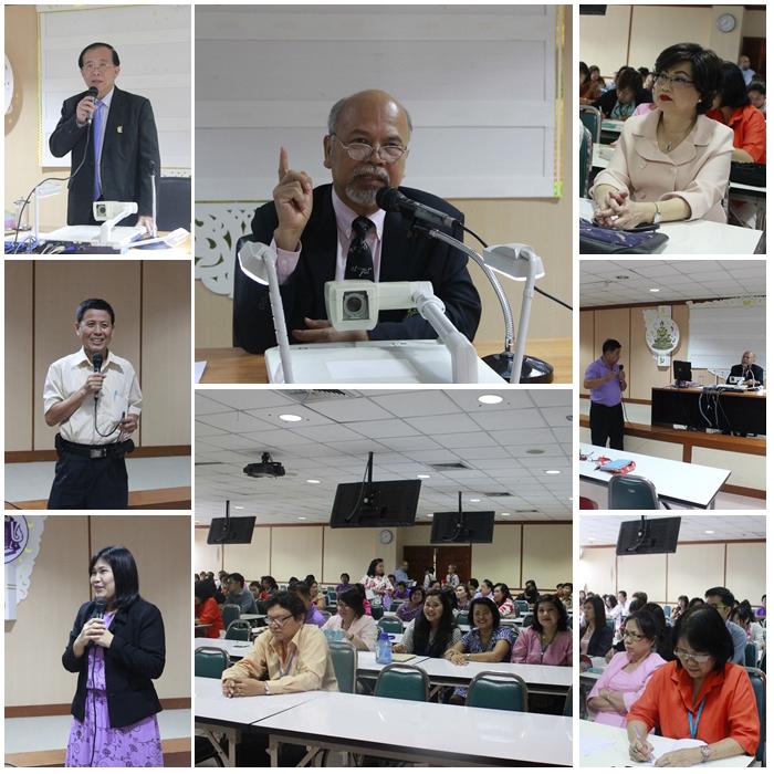 ประชุมเพื่อรับฟังแนวทางในการบริหารงานสำนักหอสมุดกลาง (23 มิ.ย. 2558 )