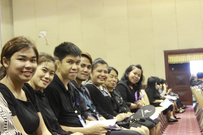 ภาพบุคลากรสำนักหอสมุดกลางร่วมประชุมฯ (13 ส.ค. 2560)