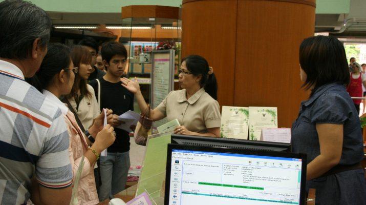 1 ก.ค. 2553 นักศึกษาโครงการแพทย์แผนไทย เข้าศึกษาดูงานและศึกษาค้นคว้าทรัพยากรทางด้านสารสนเทศ ของสำนักหอสมุดกลาง