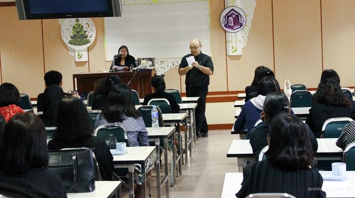 5 ต.ค. 2560 ประชุมรับทราบนโยบายสำนักหอสมุดกลาง ประจำปีงบประมาณ 2561