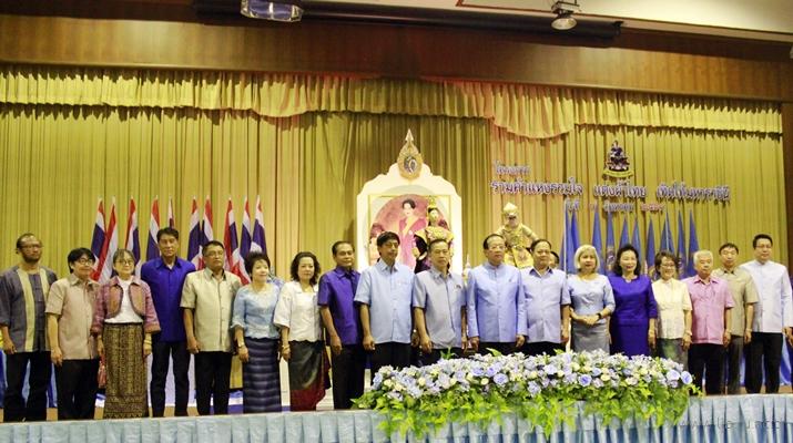 7 ส.ค. 2561 โครงการรามคำแหงรวมใจแต่งผ้าไทยเทิดไท้มหาราชินี