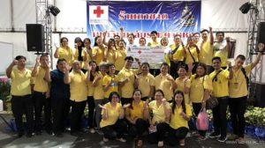 18 พ.ย. 2562 สำนักหอสมุดกลางร่วมออกร้านกาชาดมหาวิทยาลัยรามคำแหง ในงานกาชาดประจำปี 2562 สภากาชาดไทย
