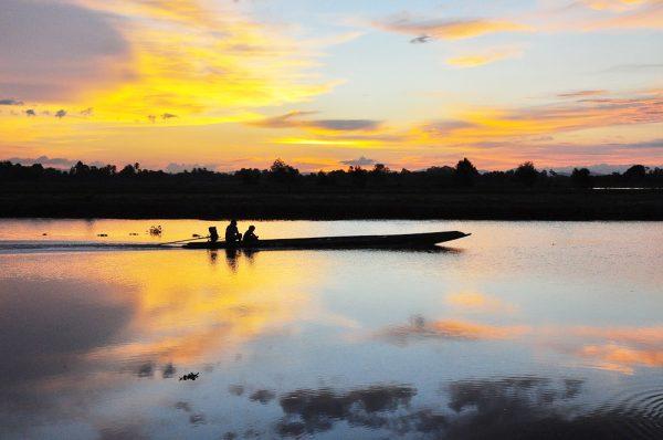 ภาพทะเลสาบสงขลา <br/>ที่มา : http://hatyaiairportthai.com