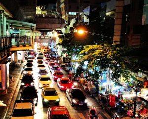 ภาพถนนสีลม
