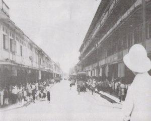 ถนนสีลม ในปีพ.ศ.2404