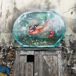 ภาพศิลปะ Street Arts บ้านโป่ง