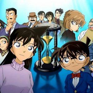 """ภาพตัวอย่างตัวละครในรูปแบบคน จากเรื่อง """"โคนัน เจ้าหนูยอดนักสืบ"""" (Detective Conan)"""