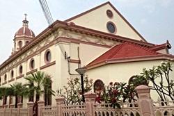 ภาพด้านข้างโบสถ์ซางตาครู้ส <br>ภาพโดย : ธงฉัตร จันทร์บุตร