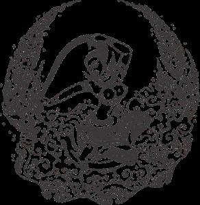 ภาพพระแม่ธรณีบิดผมมวย โดย Ljungkngs ที่มา : https://pixabay.com/en/mother-earth-squeeze-the-bun-1581680/