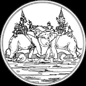 ภาพตราประจำจังหวัดสุพรรณบุรี