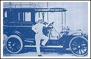 """รถยนตร์พระที่นั่ง """"แก้วจักรพรรดิ์"""" เป็นรถเมร์เซเดส 28-32 แรงม้า ปีค.ศ. 1905 ความเร็ว 46 ไมล์ต่อชั่วโมง"""