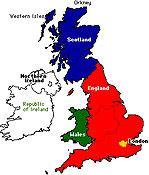 สหราชอาณาจักรกับอังกฤษ ต่างกันอย่างไร